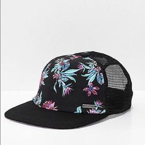Empyre Kahula Floral Snapback Trucker Hat Cap